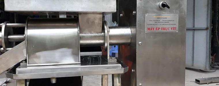 Hướng dẫn sử dụng máy ép khóm công nghiệp